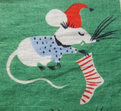 Rare Tammis Keefe Not a Creature Was Stirring Not Even by gramily, $97.00