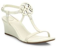 ae735576e42825 Tory Burch - Miller Leather Wedge Sandals