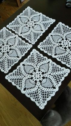 Previous next 1 of 2 here is an extraordinary inquiry that went over my work area and i consider most you Best seo for interior designers - Crochet Filet Delicate Crochet Lace Doily N This Pin was discovered by fat One miniature crochet square doily cm by Crochet Table Runner Pattern, Crochet Doily Rug, Crochet Dollies, Crochet Doily Patterns, Crochet Tablecloth, Crochet Squares, Thread Crochet, Crochet Designs, Crochet Stitches