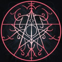 Sigil for protection against all forms of magical attack Commissioned by littlecornercreature