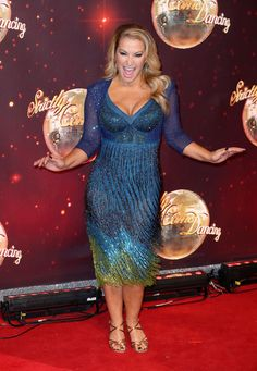 Anastacia arrives for the launch of 'Strictly Come Dancing 2016' at Elstree Studios on August 30, 2016 in Borehamwood, England.