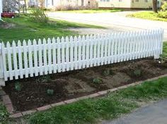 Low lying picket fence idea for 31 Franciscan way Kensington