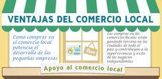 Ventajas de comprar en el comercio local, ¿y tú por qué apoyarías al pequeño comercio de tu localidad?