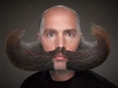 25 Impressive Photos From The World Beard And Moustache Championships.