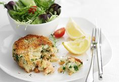 Make salmon go further with these best-ever salmon fish cakes. Combine salmon fillets with potato, herbs and sauces, and golden fishcakes are moments away.