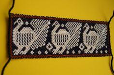 Huichol pulsera con cuentas peyote Multicolor Arte Popular Mexicano Grande | Objetos de colección, Culturas y etnias, Latinoamericana | eBay!