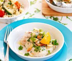 Örtig+mandeltorsk+med+grönsakscouscous