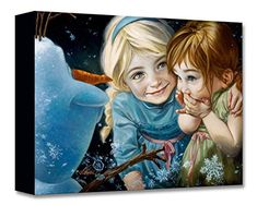 Never Let It Go - Treasures on Canvas - Disney Fine Art F...