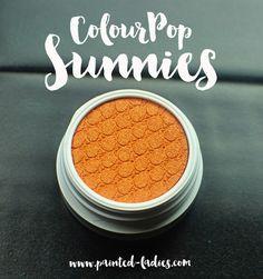 Colour Pop Sunnies Super Shock Shadow