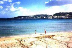 Mellieha Bay. The beach