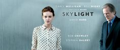 "30/10 - National Theatre Live: ""Skylight"" Matthew Beard, National Theatre Live, Bill Nighy, Carey Mulligan, Skylight, People, Movies, Dormer House, Films"