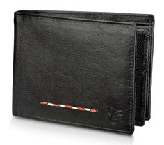 Contrast Stylish wallet combines all the qualities of traditional craftsmanship with contemporary design!Has snap closure coin pocket! Although it is compact and slim, you'll find ample space for notes and cards and a hidden transparent window for your ID!