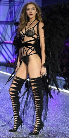All hail Hadid! Gigi Hadid blew the competition out of the water at the Victoria's Secret Fashion Show on Wednesday, as she gave a masterclass in prowling down the catwalk