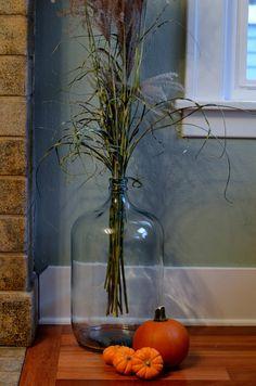Custom Vintage 5 Gallon Glass Water Jug Repurposed As A