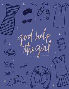 Style Monday: God Help the Girl — June Letters Studio
