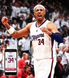 Los Angeles Clippers 34 Paul Pierce 2014 15 New Swingman Home White Jersey 4