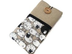 Sheep iPhone 8 Case Fabric Pouch iphone iPhone X cover