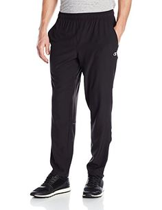 Champion Men's Cool Ctrl Run Pant, Black, XX-Large:   Cool ctrl gives you lightweight fabric and ventilation where you need it - so you stay cool and comfortable while you train.