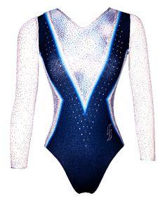 Justaucorps de gym Startner OPHELIE-02 Bleu Marine, Wetsuit, Bodysuit, Swimwear, Tops, Women, Fashion, Gym Leotards, Gymnastics