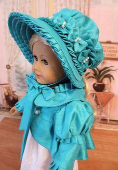 RESERVED Regency Spencer Jacket Bonnet and Dress by BabiesArtUs
