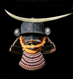 Mempo for Date Masamune Kabuto Kabuto Samurai, Samurai Helmet, Samurai Swords, Japanese Mask, Japanese Warrior, Japanese Style, Date Masamune, Kendo, Katana