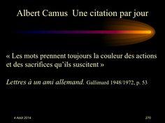 Albert Camus (1913-1960) n° 270