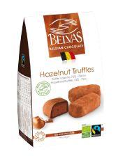 Belvas - Praline truffles in sachet bag - 1 x Belgian Chocolate, Chocolate Hazelnut, Chocolate Gifts, Chocolate Truffles, Sachet Bags, Alcohol Free, Cocoa, Cravings, Organic