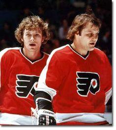 Bobby Clarke & Bill Barber - Philadelphia Flyers