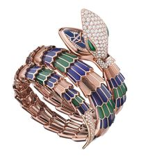 Are These the Most Collectible Jewels on the Planet? High Jewelry, Luxury Jewelry, Jewellery, Unusual Watches, Bvlgari Serpenti, Malachite, Pink And Gold, Planets, Jewels