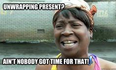 unwrap the present meme - Google Search