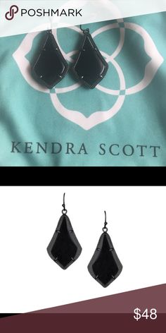 Kendra Scott Alex Gunmetal Earrings Only worn 1-3 times.  I'm just not that much a fan of the gun metal.  Just like new. Unless otherwise stated all my items are new with or without tags.  Make an offer 👇👇👇 or bundle 👗💍👛👟👠 for more savings. Kendra Scott Jewelry Earrings