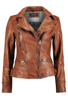 Armani jeans veste en cuir