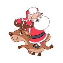 Santa christmas tree icons | Icons Find