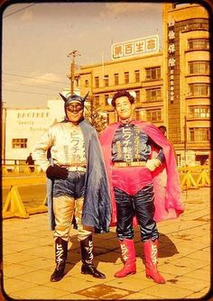 batman and superman Vintage Family Pictures, Vintage Photos, Asian Superheroes, Beast Of The East, Man Japan, Ghost In The Machine, Dangerous Minds, Batman And Superman, Hiroshima