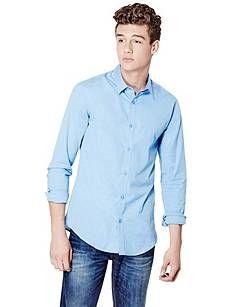 Knox Stretch Super-Slim Fit Shirt   GUESS.com