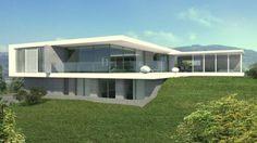 Villa design pierre en Sardaigne par Jean-Yves Arrivetz architecte ...