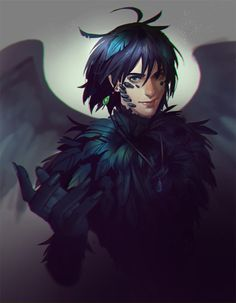 Raven Howl commission for Fawn