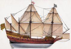 Galion Anglais 1580