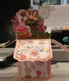 Granddaughter's Easter Card in a Box