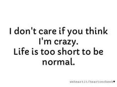 Because I'm crazy (⌒o⌒)