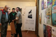 Afiche.16º Festival de Cine. Valdivia, Chile. 2009 on Behance Behance, Film Festival, Proposals