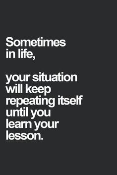 Just learn the lesson and move on, do not stay it does repeat itself over and over, because the wrong person is willing to change..You.