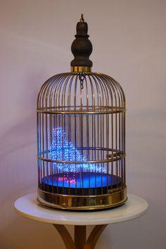 """The Blue Bird"" (2009) by Makoto Tojiki"