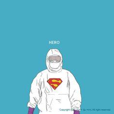 Graphic Design Illustration, Art And Illustration, Medicine Illustration, Real Superheroes, Medical Wallpaper, Warrior Drawing, Nurse Art, Islamic Cartoon, Medical Art