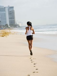 i absolutely love running on the beach... i would do it every day if there was a beach present.