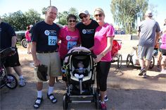 Clear Title of Arizona's CEO, Bart Patterson, spent the day at the Arcadia Family Fun Run, with his friends and family in support for Team Taylor. #cleartitle #arizona #family #Arcadia #teamtaylor