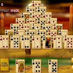 Piramis kártya játék