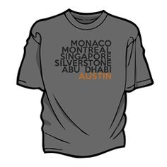"""The City"" shirt by THE AUSTIN GRAND PRIX - $24.99"