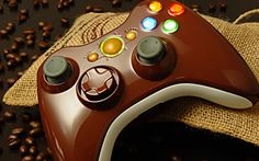 """This is our """"Coffee"""" Xbox 360 Modded Controller. All modes are adjustable rapid fire meaning you can choose any speed from 1 to 30 shots per second, depending on specific game restrictions. Since you have 6 classes to choose from you can set each class up to match all of your custom classes in your favorite COD game. You will never have to adjust the controller again! All RapidModz.com controllers are 100% undetectable in all Games."""