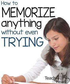 Education Discover How to Memorize Anything Without Even Trying Here are some great memorizing tips to help you memorize anything. Study Skills, Life Skills, Skills To Learn, Education College, Primary Education, Education Galaxy, Childhood Education, Values Education, Learning
